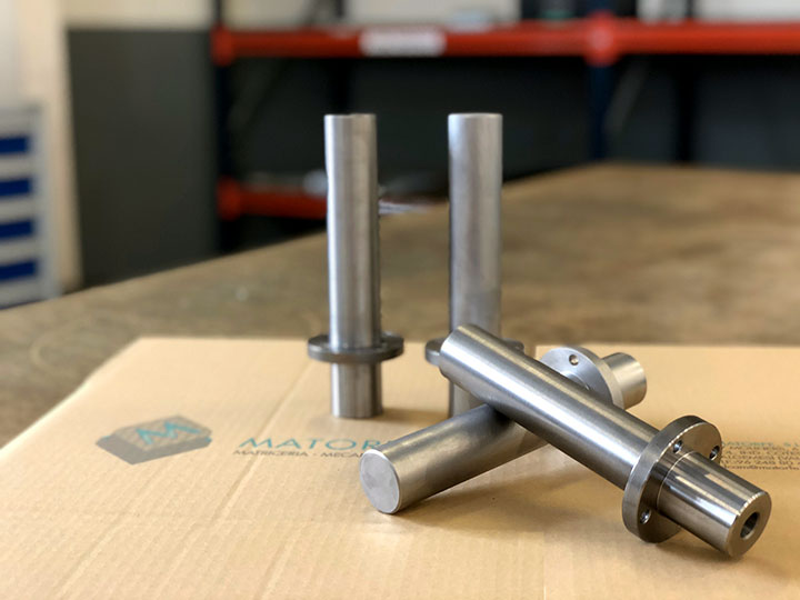 mecanizados en torno y fresa CNC